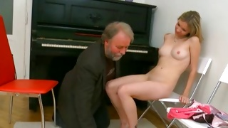 Dirty old guy wishing to give a fuck to a young beauty