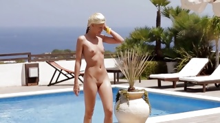 Take a look at superior undressed body of passionate chick
