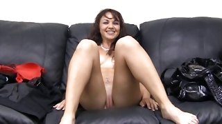 Horny bitch keeps on swallowing tasty fat dick