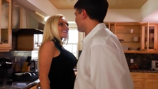 Mouthwatering bitchy gal is observed by a guy