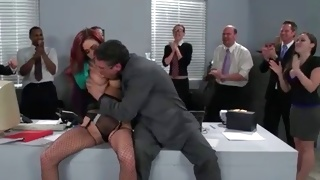 Passionately sweet young bitch riding kinky on a schlong