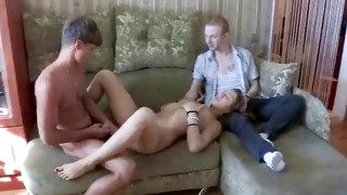 Kinky mister is squeezing on her milk sacks in a passionate way