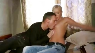 Completely au naturel whore is sliding her tongue on the mister body