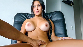 Colombian college student Jessica fucked