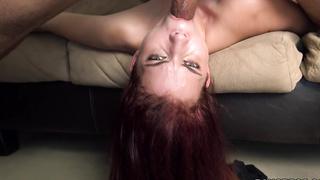 Stacy Gets Skull Fucked!
