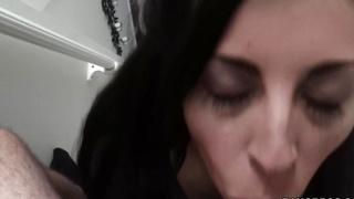 Latina Milf gives great bj's